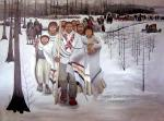 Trail of Tears canvas