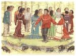 Choctaw Raccoon Dance
